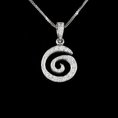ciondolo spirali